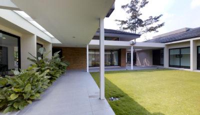 Court Villa 3D Model