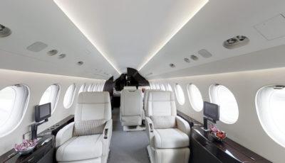 Falcon 7X Aircraft 3D Model