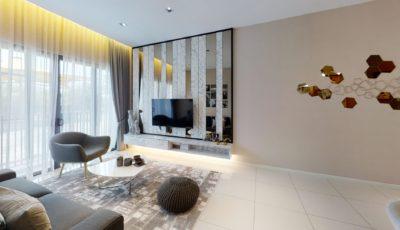 Sunway Avila Type E 4 Bedrooms 3D Model